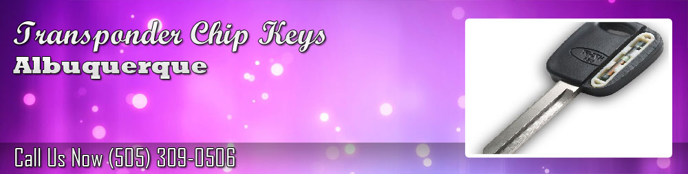 Transponder Chip Keys Albuquerque